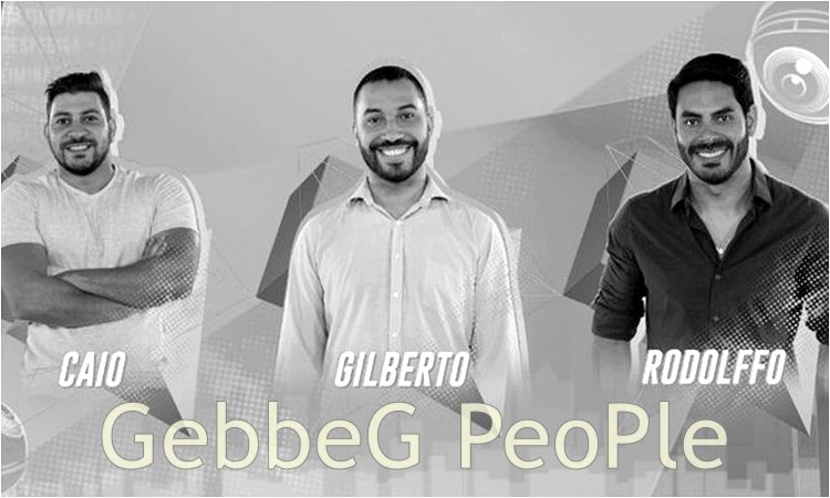 BBB 21: Caio, Gilberto e Rodolffo estão no décimo paredão do Big Brother Brasil