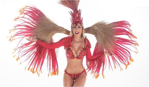 Leticia Daniela Fantasia de Carnaval 2019