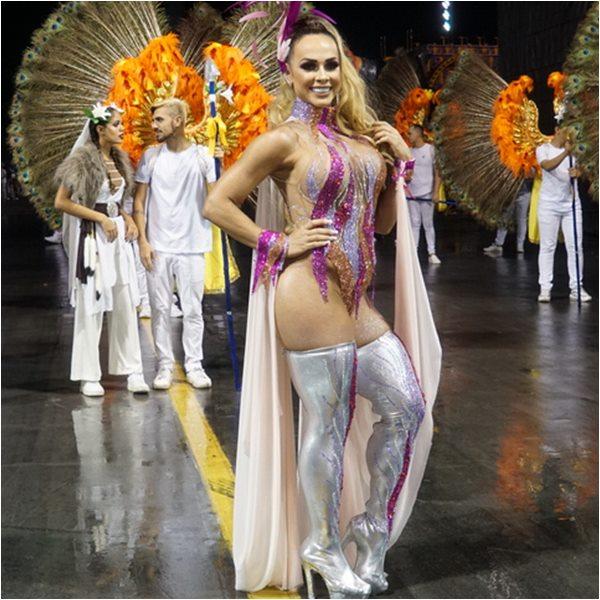 Musas do Carnaval Renata Spallicci