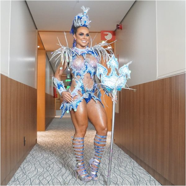 Renata Spallicci Musa do Carnaval 2019