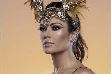 Modelo Talita Rocca Ensaio de Carnaval 2019