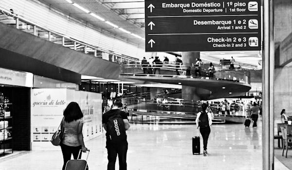 Aeroporto no Brasil