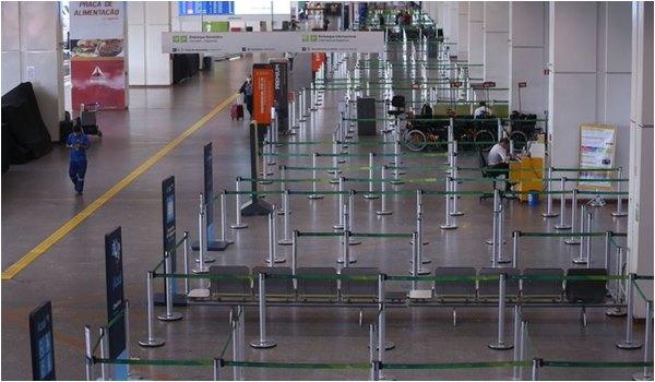 Aeroporto no Brasil - Viagem Aérea