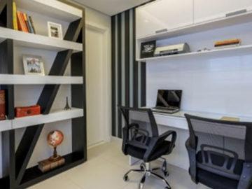 Arquitetura e Decoração : Home Office : Foto Osvaldo Castro