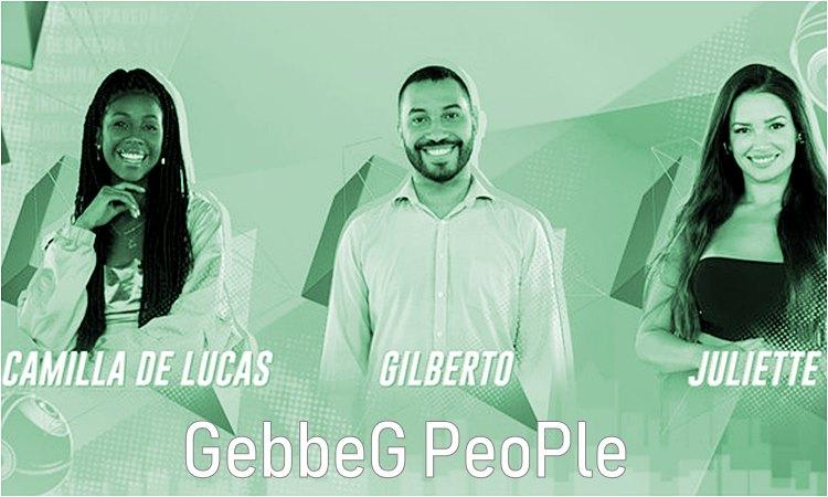 BBB21 - Paredão Camilla de Lucas - Gilberto Nogueira e Juliette Freire - gebbeg.com.br