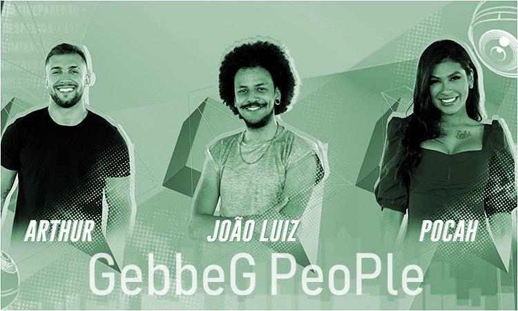BBB21 - paredão Arthur, João e Pocah - gebbeg.com.br