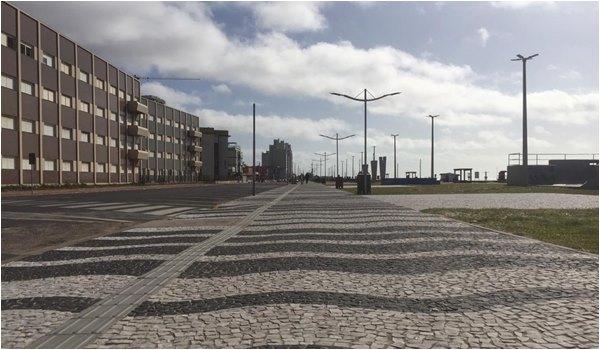 Calcadao Beira Mar de Tramandai Litoral Norte Gaucho