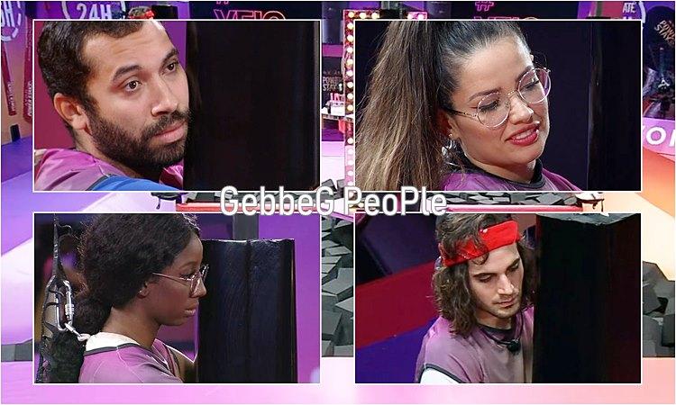 Camilla Fiuk Gil e Juliette no Top 4 BBB21 Big Brother Brasil