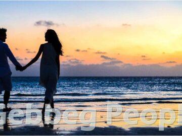 Casal na beira da praia - Gebbeg People
