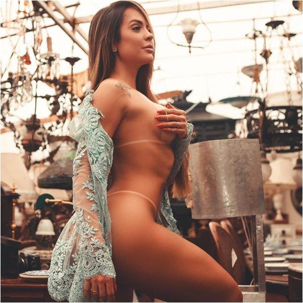 Denise Dias Foto Sensual Musas Brasileir