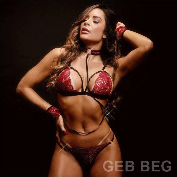 Ensaio Sensual Denise Dias Lingerie da Moda 2020