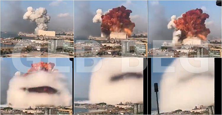 Explosão em Beirute no Líbano - Flash News Beirut Libanon