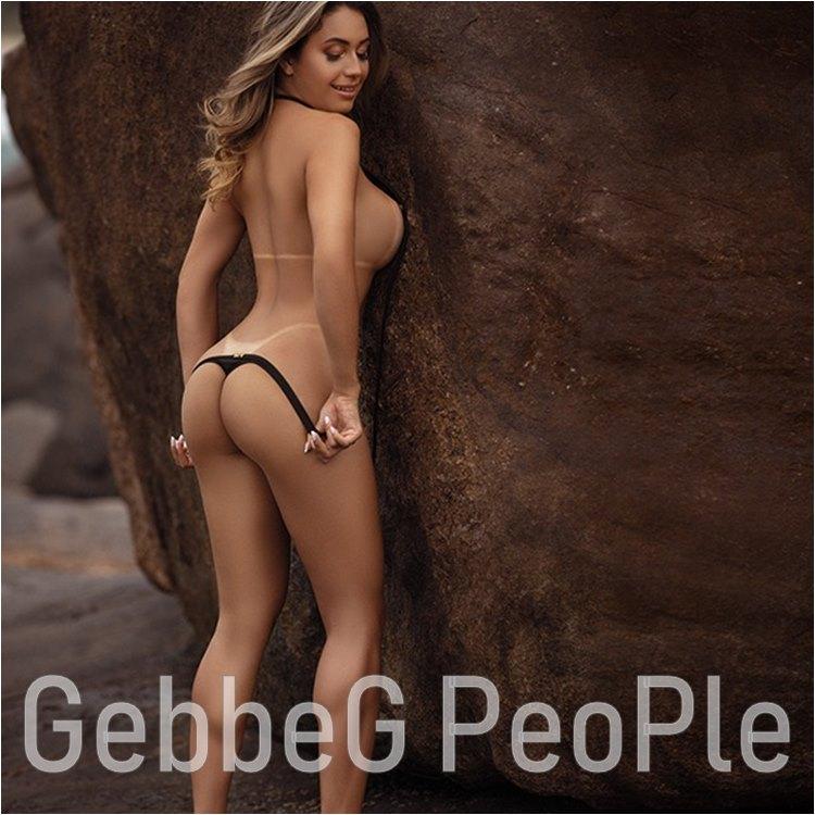 Foto Sensual de Lais Biz na Revista Sexy - Gebbeg  Musas Brasileiras