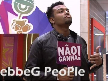 Nego Di no reality show BBB 21 - gebbeg people
