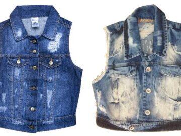 Dicas de Moda Feminina : como usar colete jeans